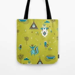 Camp Wichita Boys Tote Bag