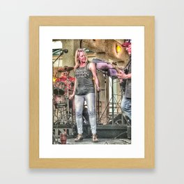 Rock And Roll Music Framed Art Print