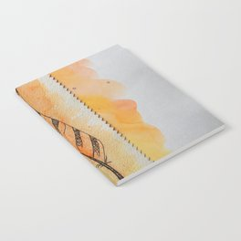 The orange feather Notebook