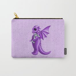 Dragon baby k, purple Carry-All Pouch