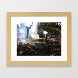 Mozambique: Humble Beginnings  Framed Art Print