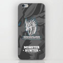 Monster Hunter All Stars - The Dondruma Hurricanes iPhone Skin