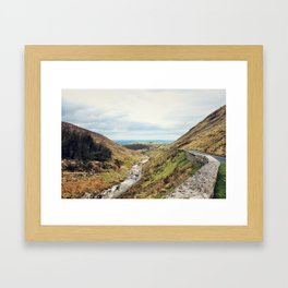Beautiful Landscape - Northern Ireland Framed Art Print