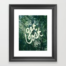 Get Lost x Muir Woods Framed Art Print