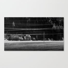 wiring Canvas Print