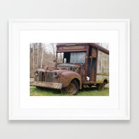 truck Framed Art Prints featuring Truck by Hayley Q. Drewyor