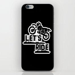 Wanna Ride? iPhone Skin