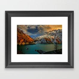 Lake X Framed Art Print