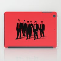 reservoir dogs iPad Cases featuring Reservoir Dogs by Jason Vaughan
