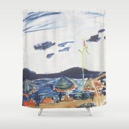 Surf Lodge Montauk II Shower Curtain