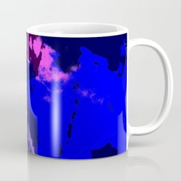 Ichithomie - Abstract Colorful Batik Camouflage Tie-Dye Style Pattern Coffee Mug