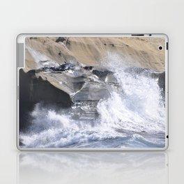 SPLASHING OCEAN WAVE Laptop & iPad Skin