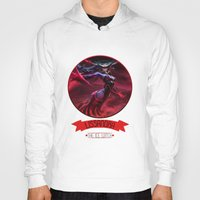 league of legends Hoodies featuring League Of Legends - Lissandra by TheDrawingDuo