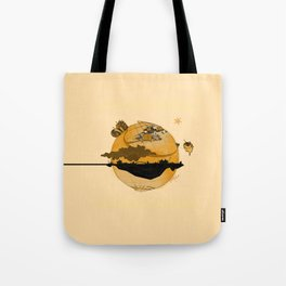 Eskisehir and Invisible World Tote Bag