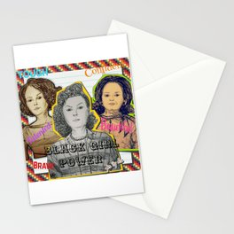 (Black Girl Power - Hidden Figures) - yks by ofs珊 Stationery Cards