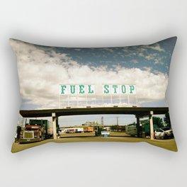 Pit Stop Rectangular Pillow
