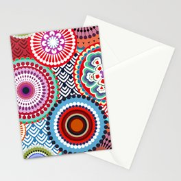 ECLECTIC FLOWERS Stationery Cards