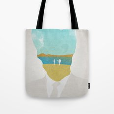 the (Silence) Impossible Astronaut Tote Bag