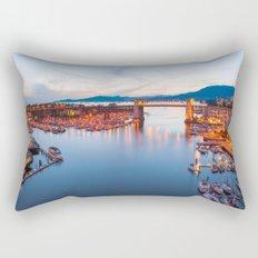 Vancouver Sunset Rectangular Pillow