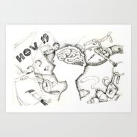 Fantasy & Brainstorming Art Print
