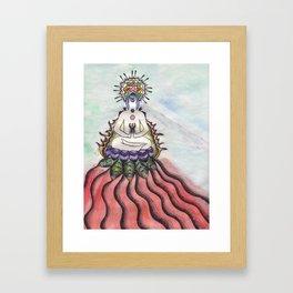 Love and Light Framed Art Print