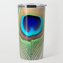 Eye of the Peacock Travel Mug