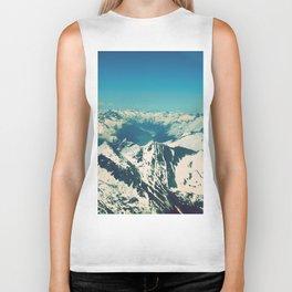 Mountain Peaks   Photography Biker Tank