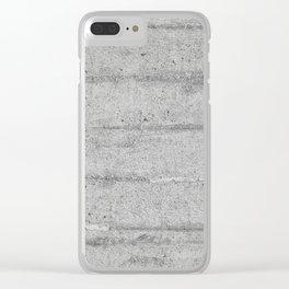 Concrete Clear iPhone Case