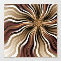 graphic design Canvas Prints featuring Graphic Design by gabiw Art