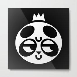 Dubious Panda Metal Print