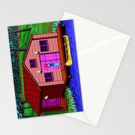 The Boathouse - The Crimson Diamond Stationery Cards