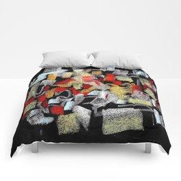 Mosaico abstracto Comforters