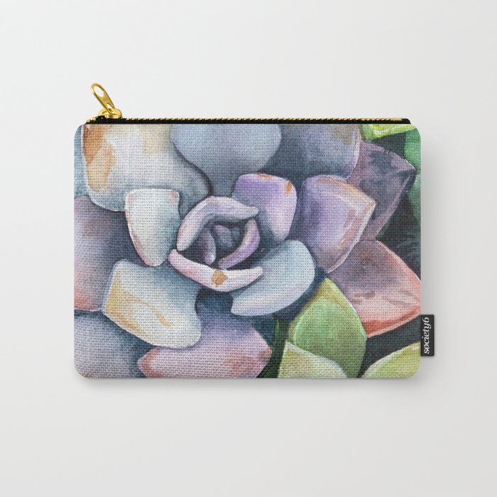 dawnsing succulents Carry-All Pouch