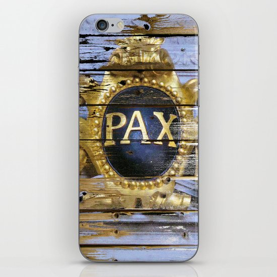 Planks for Peace iPhone & iPod Skin