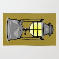 lantern Area & Throw Rugs featuring Lantern by mailboxdisco
