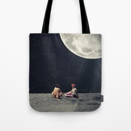 I Gave You the Moon for a Smile Tote Bag