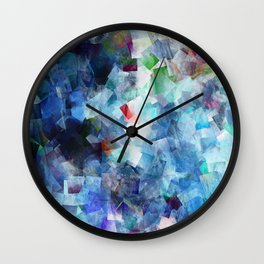 Symphony in blue Wall Clock