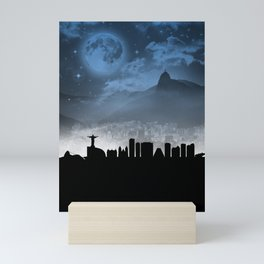 Rio De Janeiro Mini Art Print