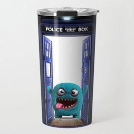 Tardis And Blue Monster Travel Mug