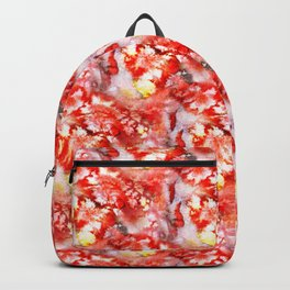 rough red marble Backpack