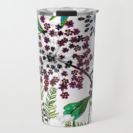 Weeds, Wishes & Dragonfly Kisses Travel Mug