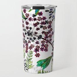 Weeds, Wishes & Dragonfly Kisses Travel Mug