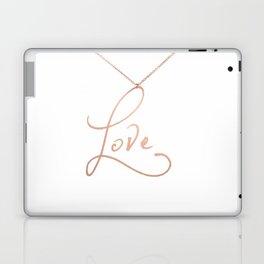 Love Pendant Laptop & iPad Skin