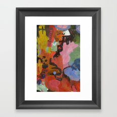 ColourAbstract Framed Art Print