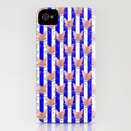 ugly duckling in blue stripes iPhone Case