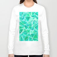 emerald Long Sleeve T-shirts featuring Emerald by Jamworth