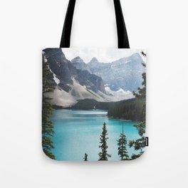 •lake moraine • Tote Bag