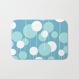 Float - Blue & White Bath Mat
