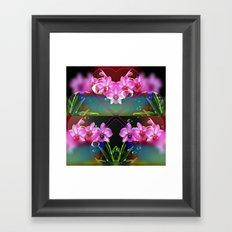 Charming Orchids Framed Art Print