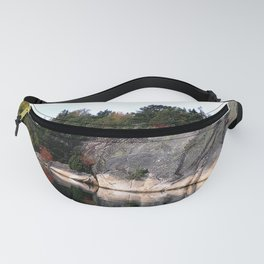 Fall Colors Accentuating Cliff Reflections Fanny Pack